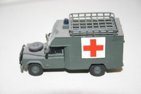 Landrover Defender 130 Airfield Ambulance